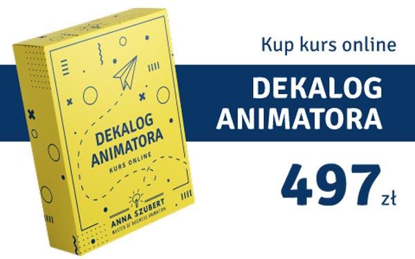 Anna Kup eBook - Dekalog Animatora